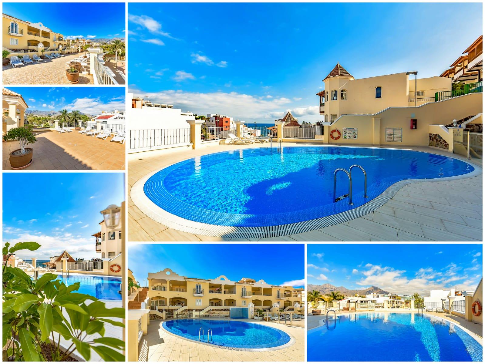 Tenerife appartement te huur met zwembad